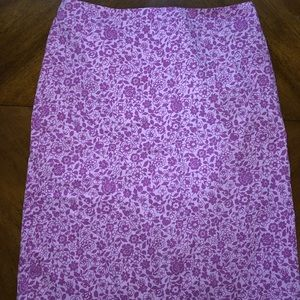 FLORAL JONES WEAR skirt purple and lavender